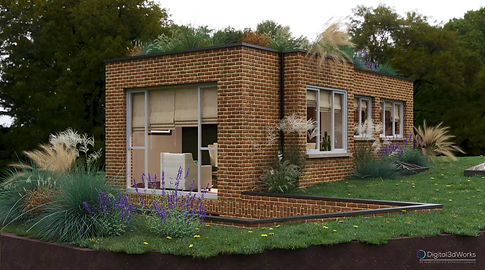 We provide 3d real estate visualization services in England, 3d Exterior visualization in UK