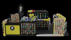 Spectrsolutions  `Ziggy Zoog ` kiosk 3d visualization in London by digital3dworks