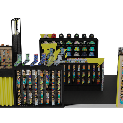"""Ziggy Zoog"" Kiosk 3d visualization"