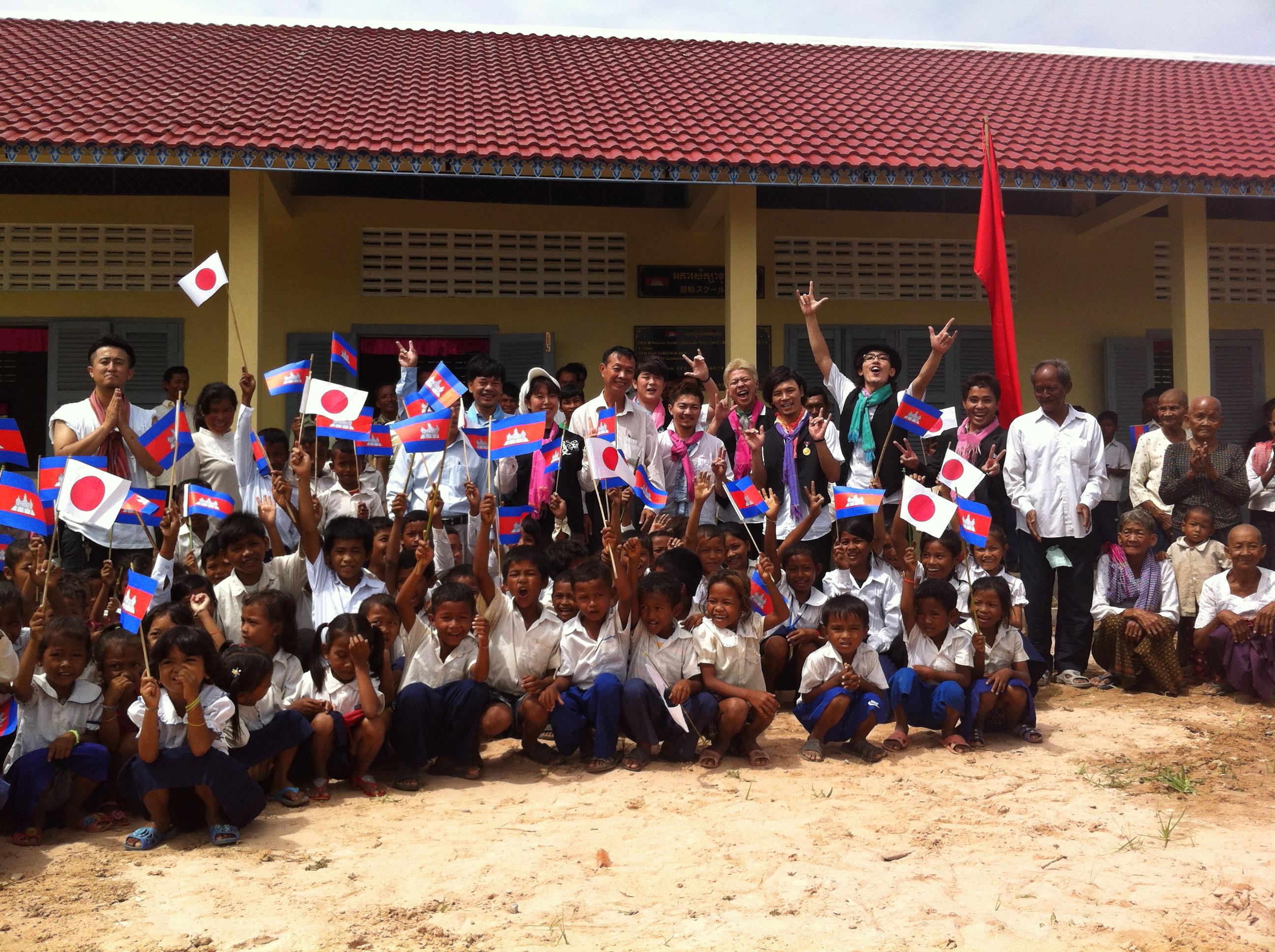 海外支援(カンボジア)