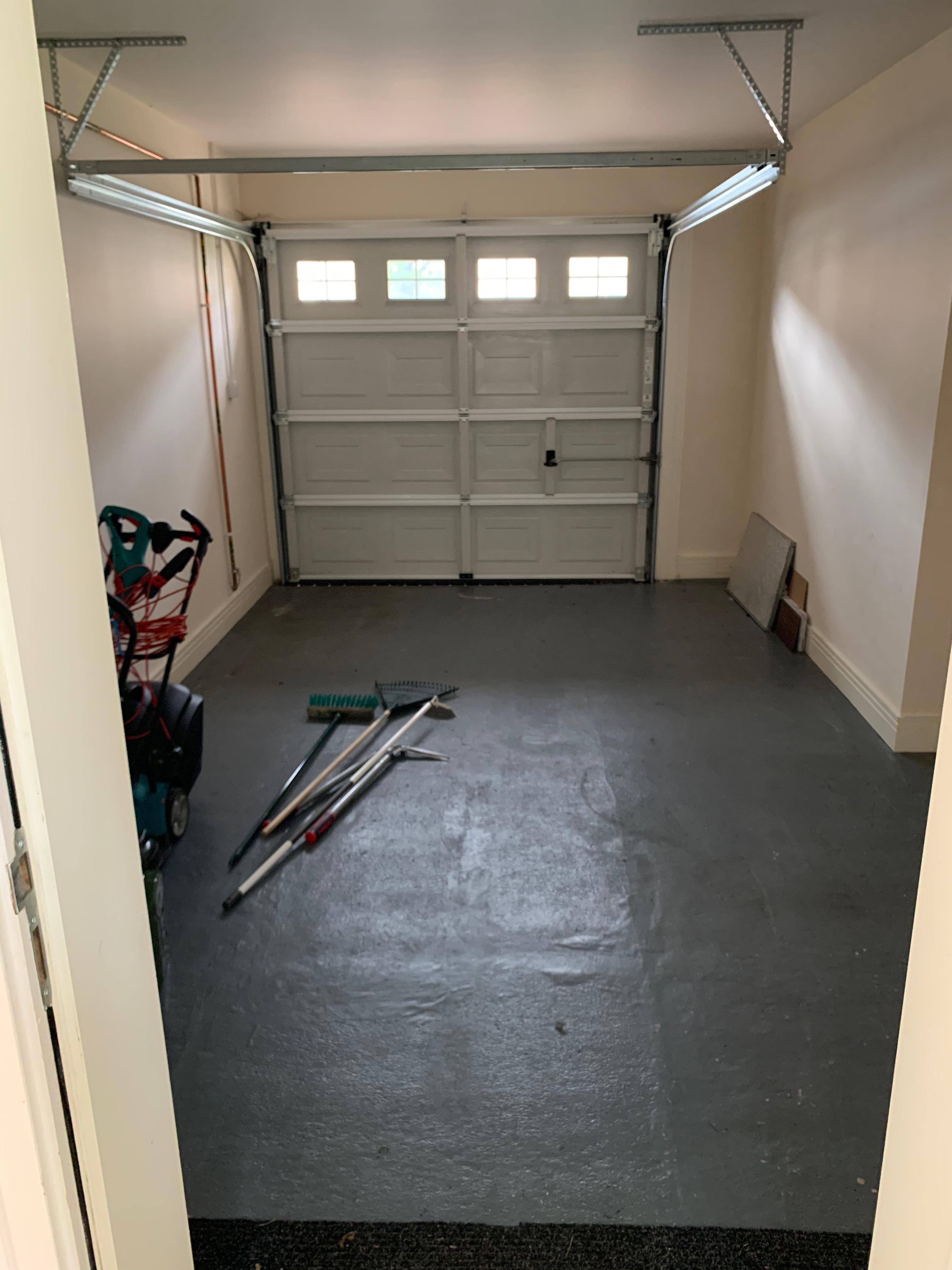 Garage off Utility Room