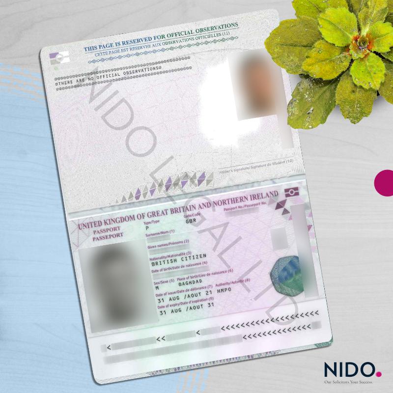 Complex Immigration Matter – Cancellation of British Passport and Deprivation of British Citizenship