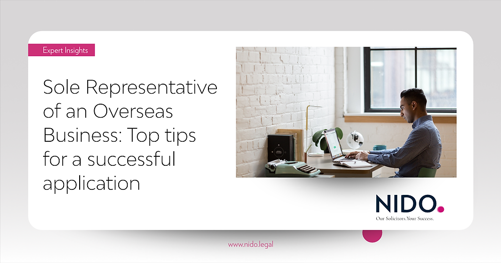Sole Representative of Oversea Business in the UK: Top Tips