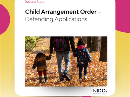 Child Arrangement Order – Defending Applications