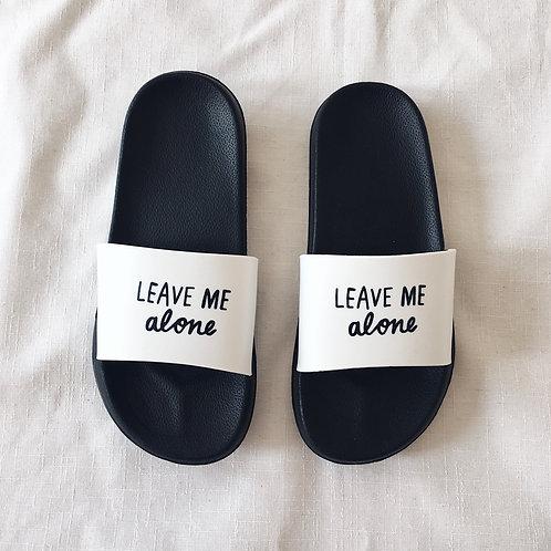 Pantofle LEAVE ME ALONE