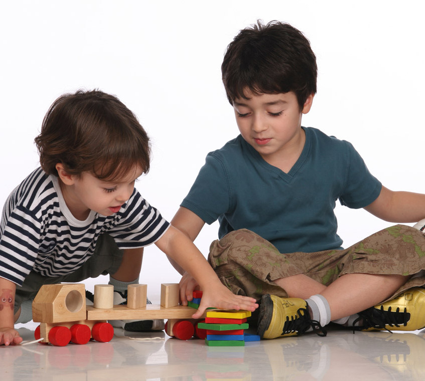 Brothers Playing