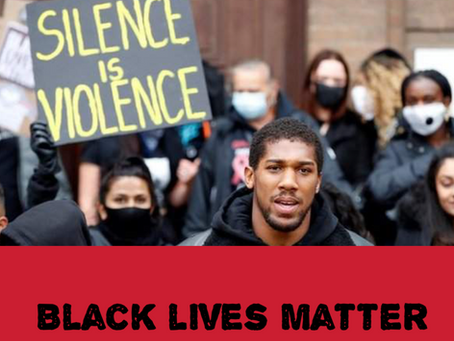 St. Helens The Best Me CIC support the black lives matter campaign.