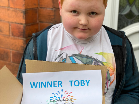 Art Competition Winner Toby!