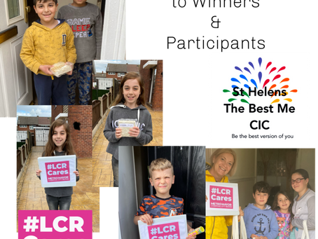 Art Competition Winners from last month!