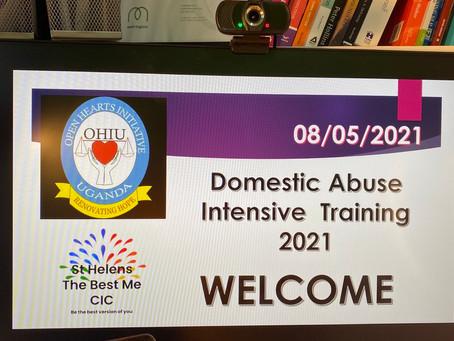 Our training in Uganda
