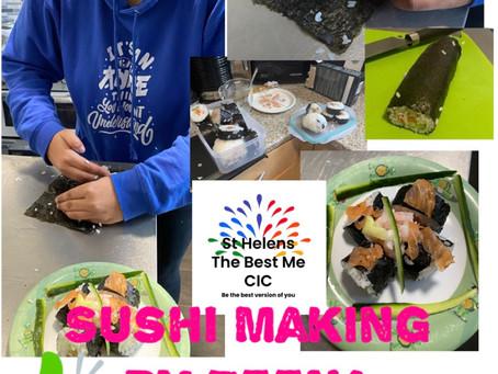 New Sushi Making Classes By Zeena