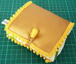 Foldable fabric bag