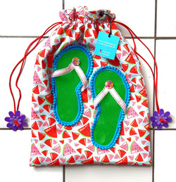 Flip flop bags