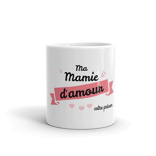 "tasse ""Ma mamie d'amour"""