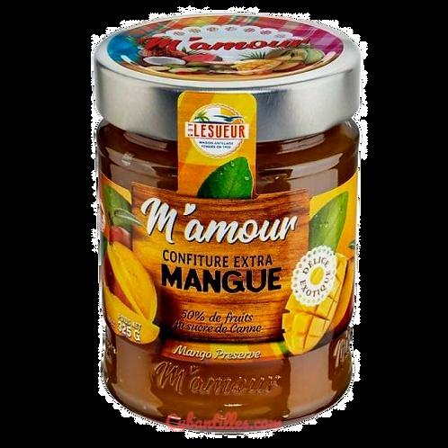 "Confiture extra Mangue ""M'amour"" 325g"