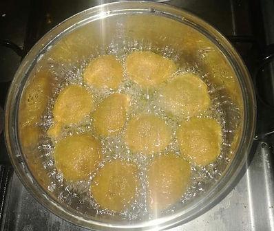 recette beignet de fruit à pain à base de farine