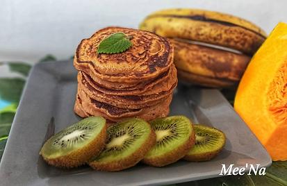 pancake giraumon banane et son miel de c