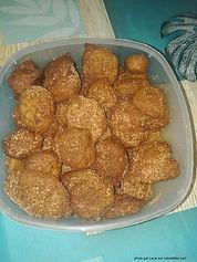 recette beignet de fruit à pain a base de farine