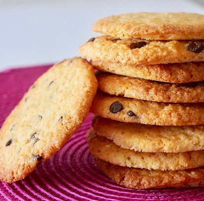 Cookies noix de coco et pépites de choco