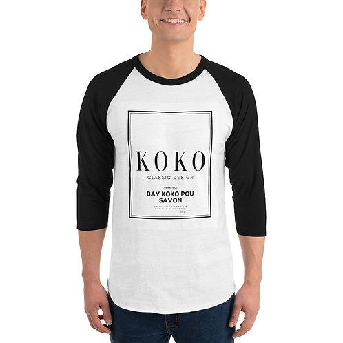 """3/4 sleeve raglan shirt """"Koko"""""""