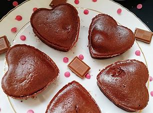 fondant chocolat sans beurre sans oeuf.p