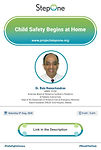 Child safety begins at home