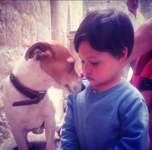 You can only feel the love you give: hayden and dog