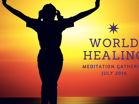 Schedule Change for World Healing Gathering