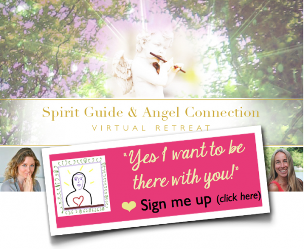 sign up for Spirit Guides and Angels Connection Retreat