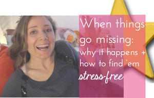 when things go missing: why it happens