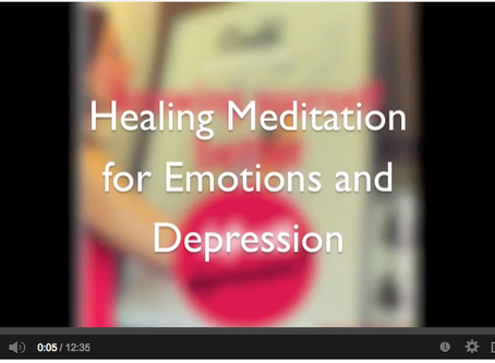 The meditation that's helped me with depression