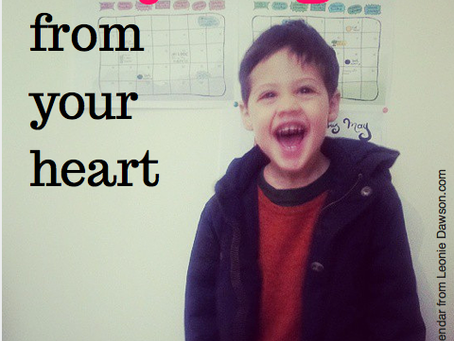 Set your goals from your heart