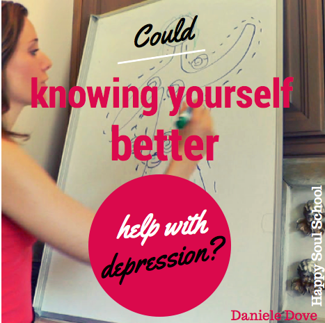 danielle dove could knowing yourself better help with depression