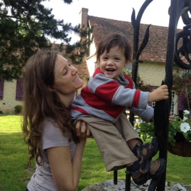 danielle dove and her son hayden