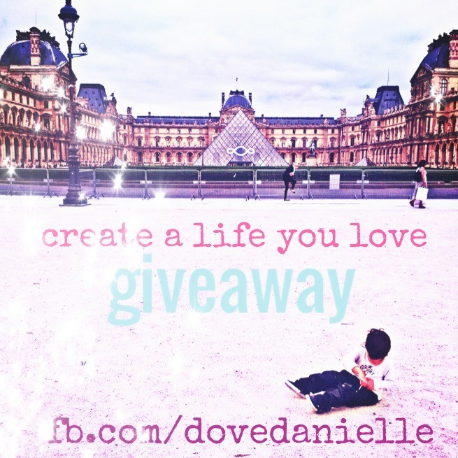 Create a life you love giveaway