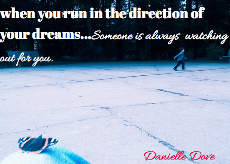 run in the direction of your dreams butterfly