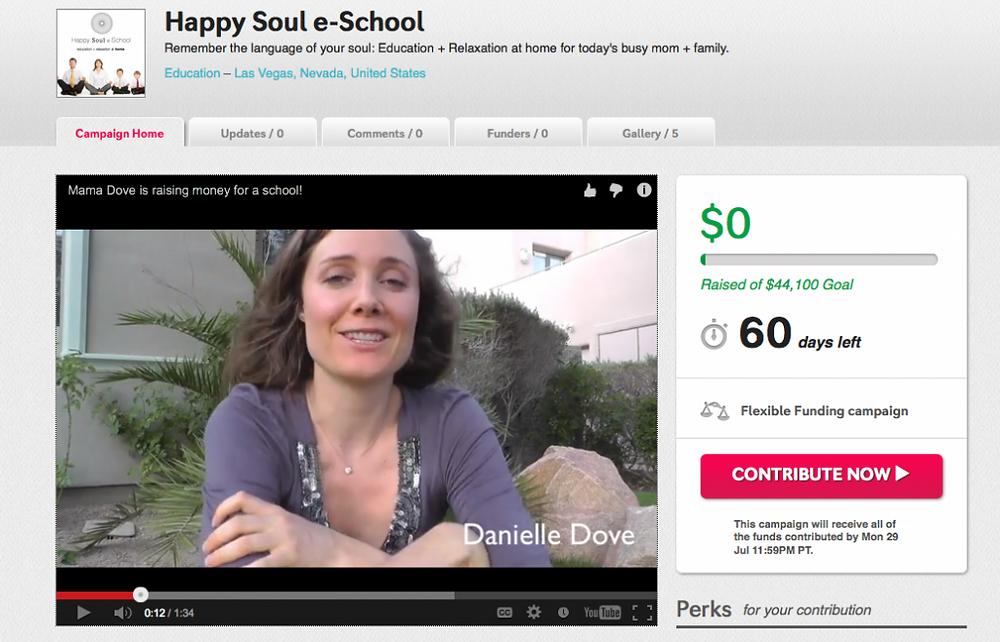 Happy Soul School Fundraiser