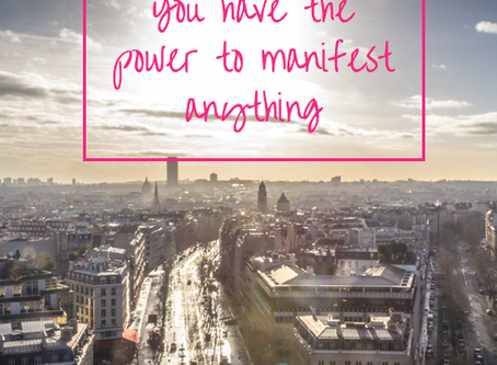 You have the power to manifest anything & end self sabotage