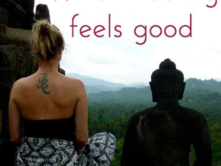 When healing feels good