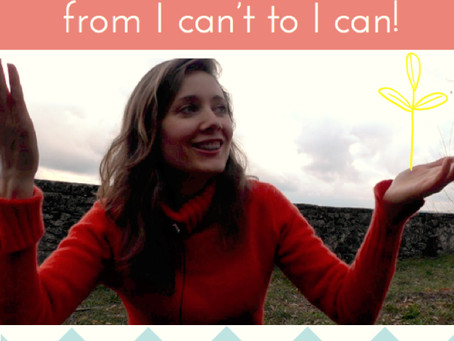 How to build bridges from I can't to I can
