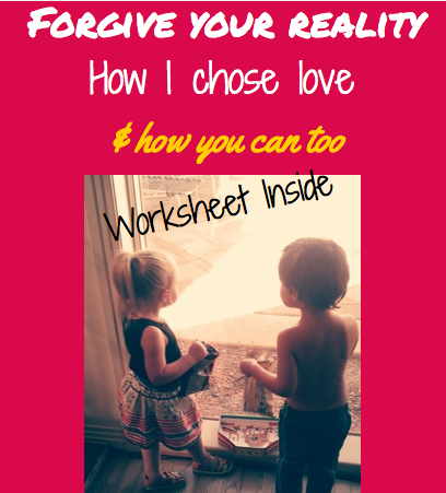 forgive your reality: how to choose love worksheet inside with danielle dove