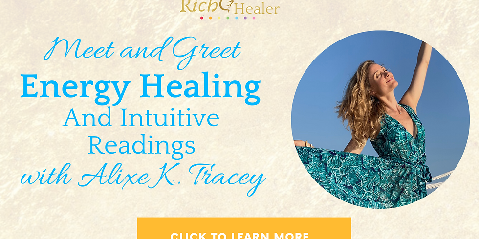 Energy Healing and Intuitive Readings Fridays  (1)