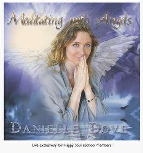 Meditating with angels