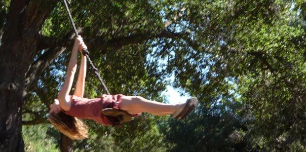 Danielle Swinging