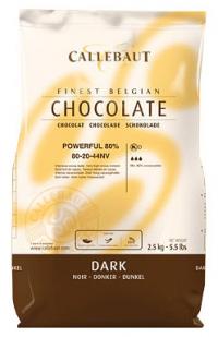 Горький шоколад 80,1% Barry Callebaut 150 гр