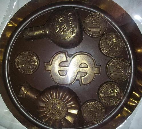 Шоколадный барельеф