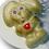 Thumbnail: Заяц с сердечком (80 гр. 10,5*8 см)
