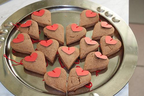 Шоколадное печенье LOVE