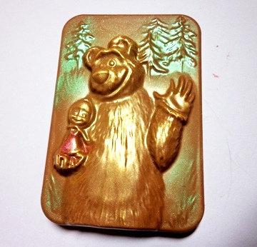 Маша и медведь (80 гр, 1 0*7 см)