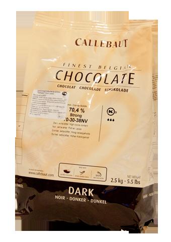 Горький шоколад 70,4% Barry 150 гр